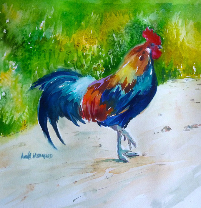 The Prancing Rooster